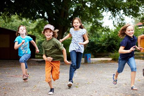 Kinder in Bewegung - Freude am Sport