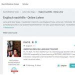 Per Mausklick kommen Nachhilfe-Lehrer aus aller Welt ins eigene Wohnzimmer