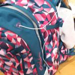 Kopfhörer-Ausgang am Satch Pack Schulrucksack Test