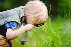 Neugier von Kindern lassen sich mit Experimenten fördern